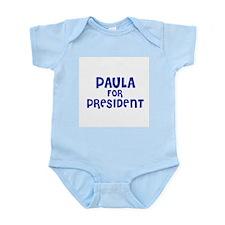 Paula for President Infant Creeper