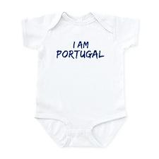 I am Portugal Infant Bodysuit