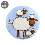 "love ewe (no txt) 3.5"" Button (10 pack)"