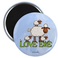 "love ewe 2.25"" Magnet (10 pack)"