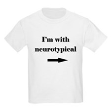 I'm with Neurotypical T-Shirt