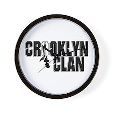 Crooklyn Clan Wall Clock