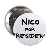 Nico for President Button