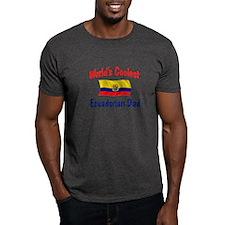 Coolest Ecuadorian Dad T-Shirt