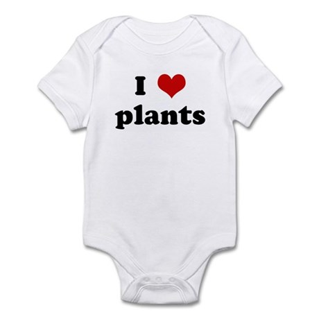 I Love plants Infant Bodysuit