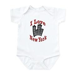 I Love New York Infant Creeper
