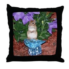 Chester the chipmunk Throw Pillow