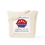 Republic Pig Tote Bag
