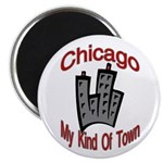 Chicago: My Kind Of Town Magnet