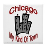Chicago: My Kind Of Town Tile Coaster
