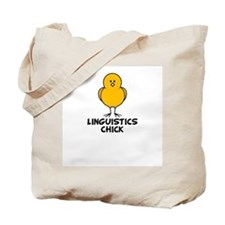 Linguistics Chick Tote Bag