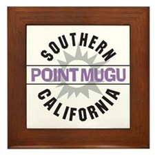 Point Mugu California Framed Tile