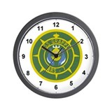 Funny Grappling Wall Clock