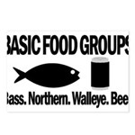 Basic Food Groups Postcards (Package of 8)