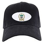 MICHAUX Family Crest Black Cap