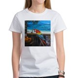 Scarlet macaw and mango Tee