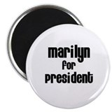 Marilyn for President 2.25&quot; Magnet (10 pack)