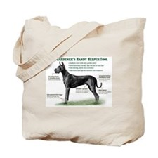 Gardener's Helper (Black) Tote Bag