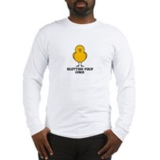 Scottish Fold Chick Long Sleeve T-Shirt