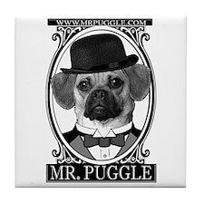 Mr. Puggle Tile Coaster