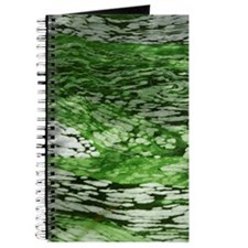 Marbled green Water Journal