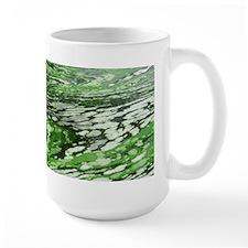 Marbled Green Water Mug