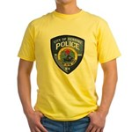 Henning Police Yellow T-Shirt