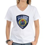 Henning Police Women's V-Neck T-Shirt