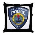 Henning Police Throw Pillow