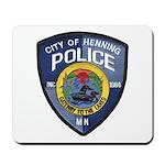 Henning Police Mousepad