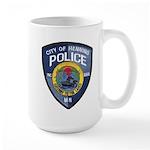 Henning Police Large Mug