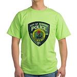 Henning Police Green T-Shirt