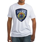 Henning Police Fitted T-Shirt