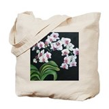 Orchid Fountain Tote Bag
