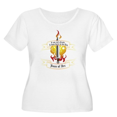 Joan of Arc - Born to Do This Women's Plus Size Sc