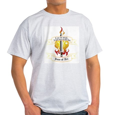 Joan of Arc - Born to Do This Light T-Shirt