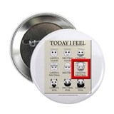 "Today I Feel - Chaotic Neutral 2.25"" Button (100 p"