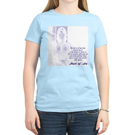 Joan of Arc - One Life Women's Light T-Shirt