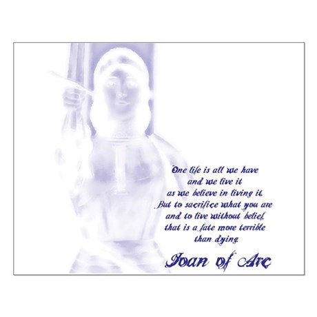 Joan of Arc - One Life Small Poster