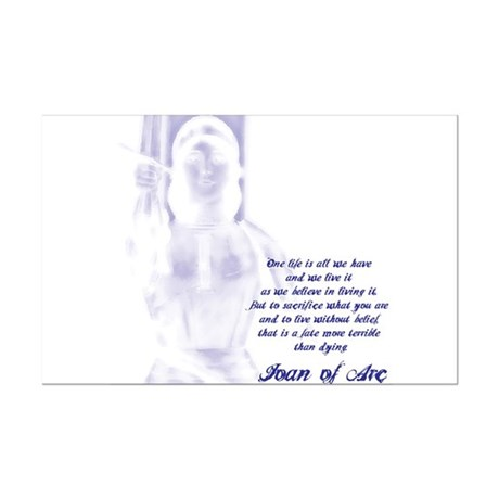 Joan of Arc - One Life Mini Poster Print