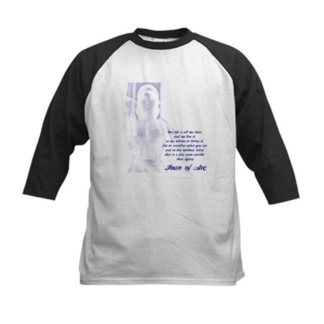 Joan of Arc - One Life Kids Baseball Jersey