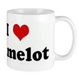 I Love Camelot Coffee Mug