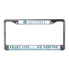 GO SURFING - License Plate Frame