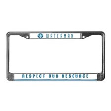 RESPECT OUR RESOURCE - License Plate Frame