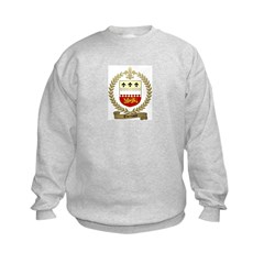 THERIAULT Family Crest Kids Sweatshirt