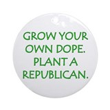 Grow Your Own Dope Keepsake (Round)
