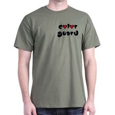 Color Guard Hearts T-Shirt