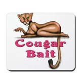 Cute Cougar bait Mousepad