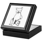 Funny Jindo Keepsake Box