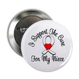 "Lung Cancer Cure 2.25"" Button"